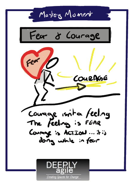 Learning Minute Courage